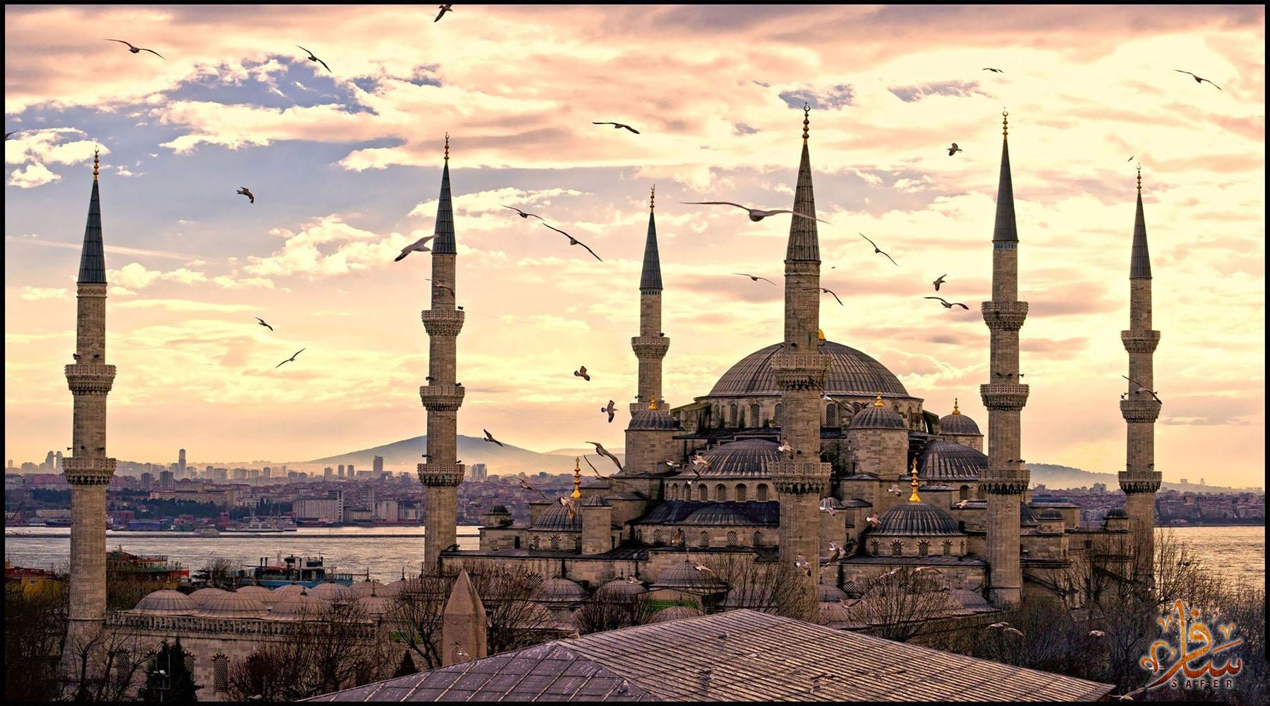 مسجد السلطان احمد - اسطنبول - تركيا